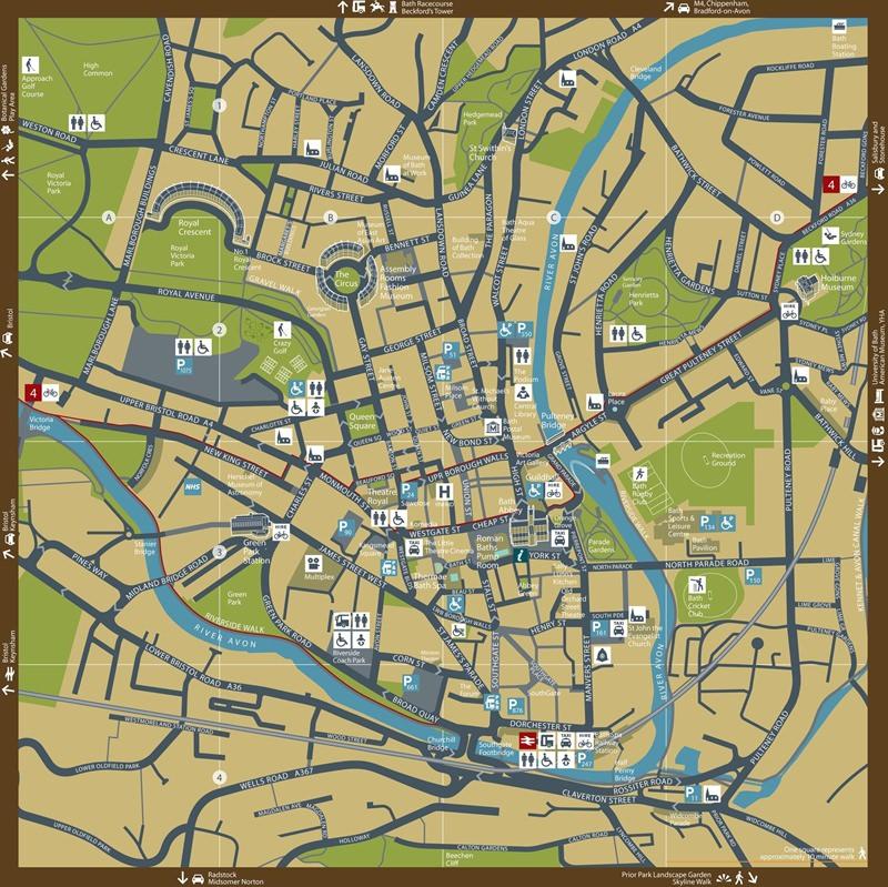 Bath City Centre Map-page-001
