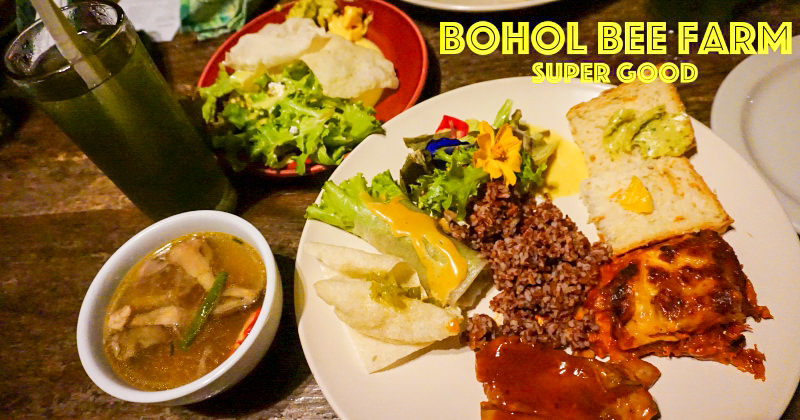 薄荷島美食|蜜蜂農場Bohol Bee Farm 超好吃有機小農餐廳