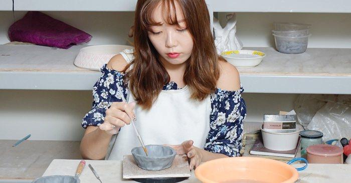 台中捏陶課程 純陶趣創意工坊 自己親手作動物造型收納罐