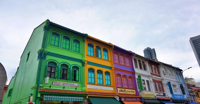 新加坡景點|彩虹巷哈芝巷、小阿拉伯蘇丹回教堂,白天晚上都漂亮。