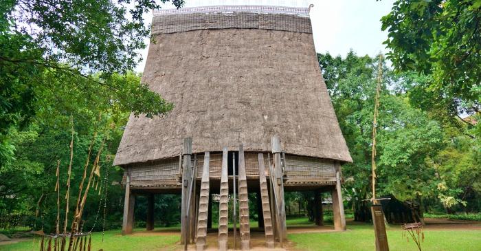 河內景點|越南民族學博物館門票、開放時間,根本是九族文化村~