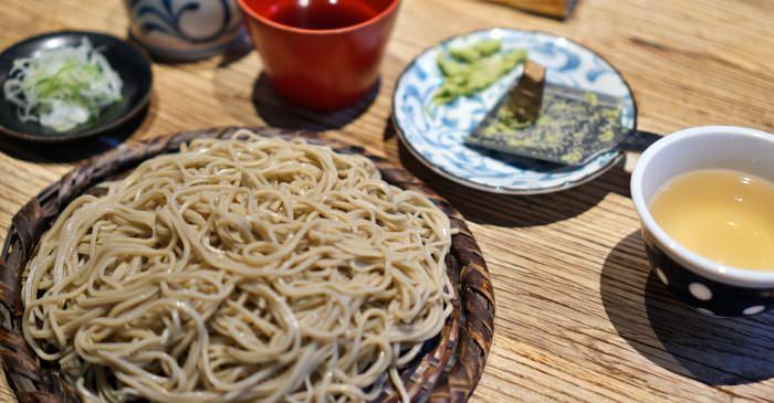 大阪美食|守破離蕎麥麵,大阪城在地排隊名店,手工自然的好味道