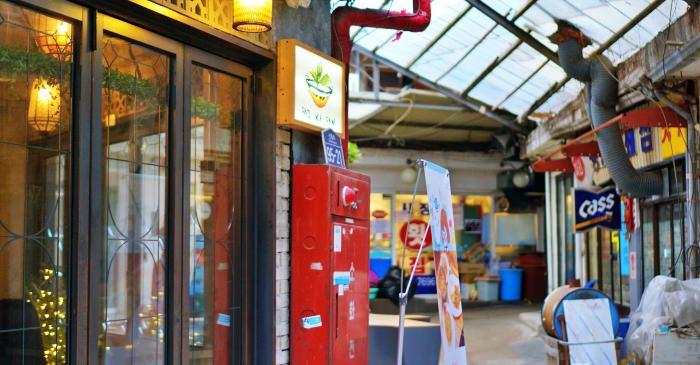 首爾梨泰院文青景點|解放村해방촌交通、新興市場咖啡廳、網美打卡點