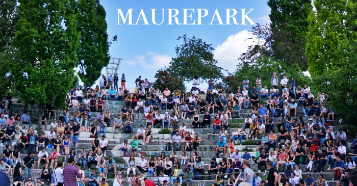柏林景點 Mauerpark二手市集、美食、交通,代表夏天的露天卡拉OK