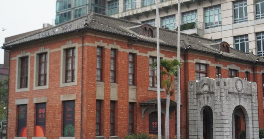 新竹歷史景點 新竹市美術館,在日本古蹟建築內免費看展覽