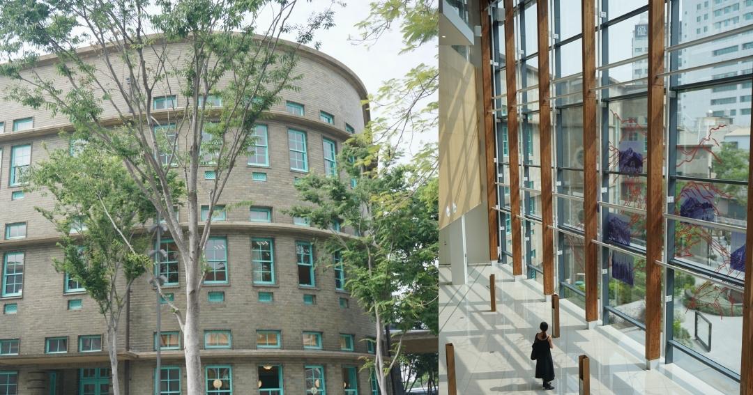【嘉義新景點】嘉義市立美術館免門票、嘉義火車站2分鐘,菸酒公賣局改建