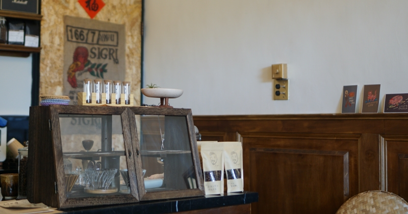 恆春咖啡館|小鬍子Ayun新鮮烘豆手沖咖啡,西西里咖啡配大太陽
